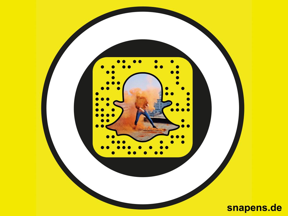 Snapcode für den VICE Discover Bereich