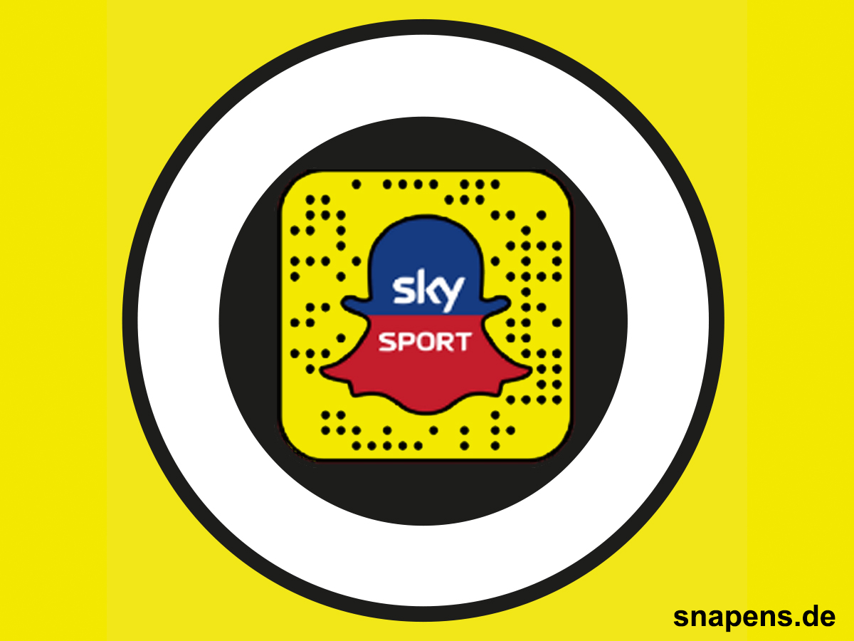 Snapcode für den sky Sport Discover Bereich