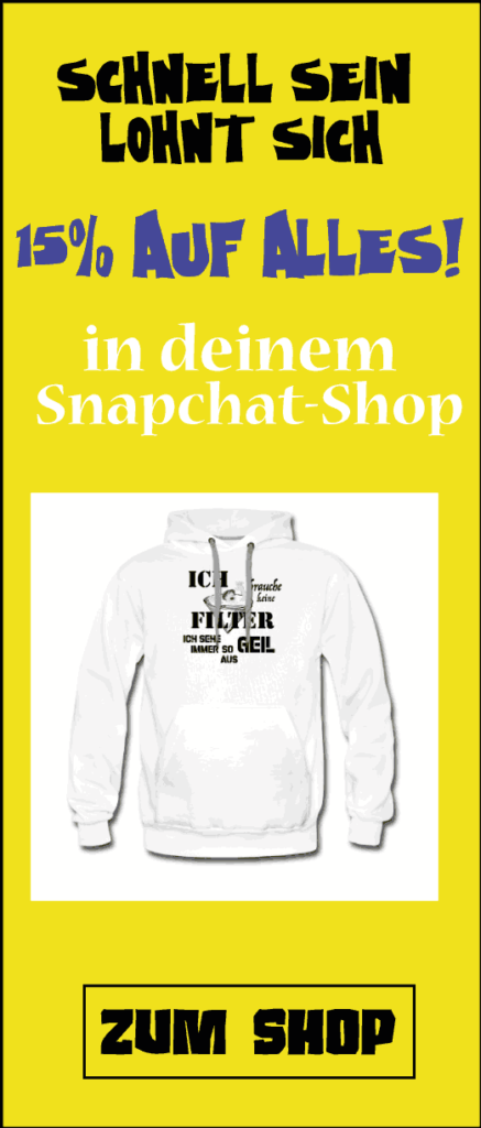 Snapchat Shop Snapens.de Merchandise Snapchat